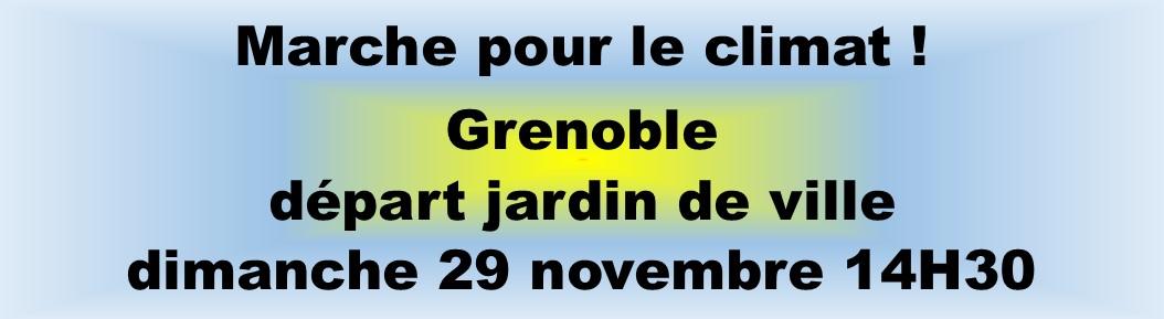 Manif Grenoble